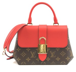 Louis Vuitton Monogram Leather Long Strap Locky Bb Cross Body Bag