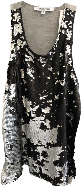 Preload https://img-static.tradesy.com/item/25374652/elizabeth-and-james-and-sequin-front-tank-blackgray-top-0-1-650-650.jpg