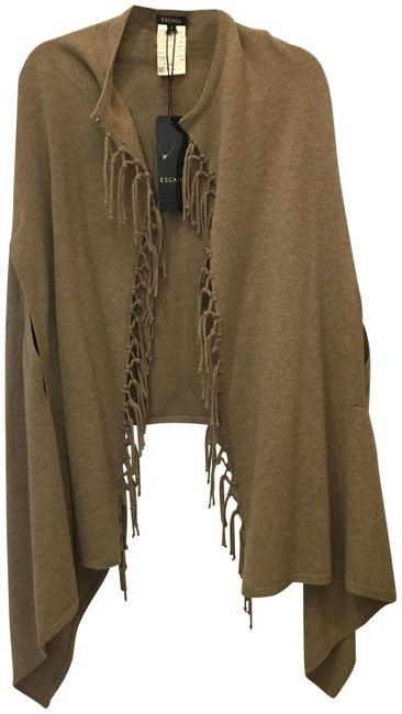 Preload https://img-static.tradesy.com/item/25374686/escada-light-brown-ponchocape-size-12-l-0-1-650-650.jpg