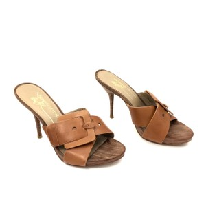 Donald J. Pliner Cognac Brown Sandals