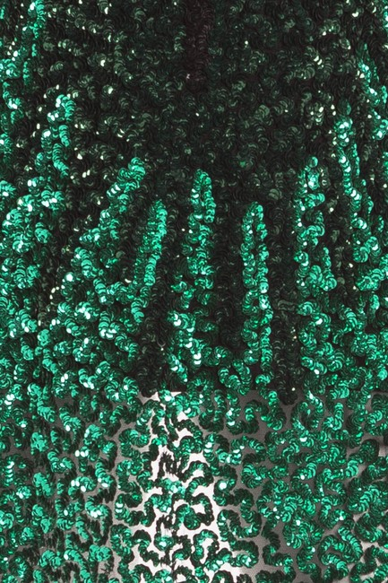 Givenchy Sequins T Shirt Black and Green Image 3
