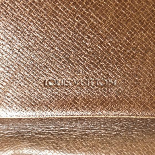 Louis Vuitton Rabat Pochette Rabat 23 Monogram Pouch Brown Clutch Image 10