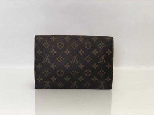 Louis Vuitton Rabat Pochette Rabat 23 Monogram Pouch Brown Clutch Image 3