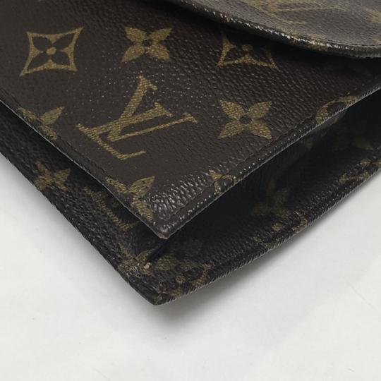 Louis Vuitton Rabat Pochette Rabat 23 Monogram Pouch Brown Clutch Image 6