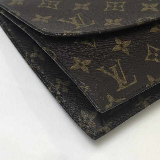 Louis Vuitton Rabat Pochette Rabat 23 Monogram Pouch Brown Clutch Image 7