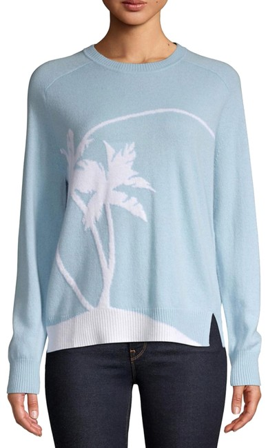 Preload https://img-static.tradesy.com/item/25374838/marella-carol-palm-tree-graphic-blue-sweater-0-1-650-650.jpg
