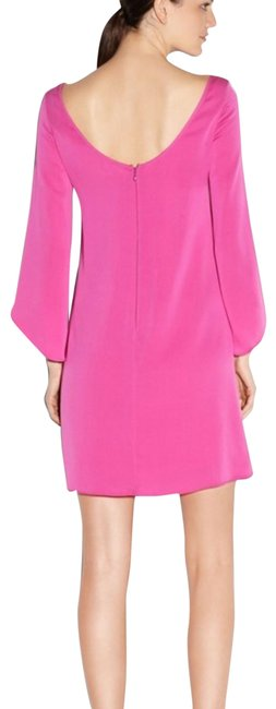Preload https://img-static.tradesy.com/item/25374875/milly-hot-pink-butterfly-sleeves-silk-mid-length-cocktail-dress-size-6-s-0-1-650-650.jpg