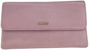 Bally Pink Saffiano wallet