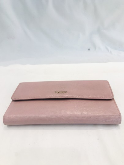 Bally Pink Saffiano wallet Image 7
