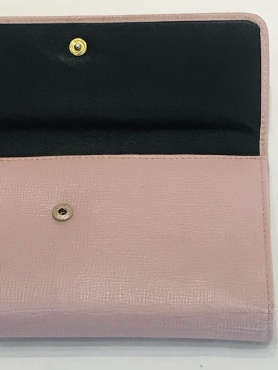 Bally Pink Saffiano wallet Image 8