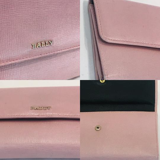 Bally Pink Saffiano wallet Image 9