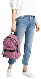 Marc Jacobs Love Print Canvas Backpack
