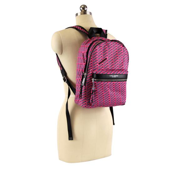 Marc Jacobs Love Print Canvas Backpack Image 1
