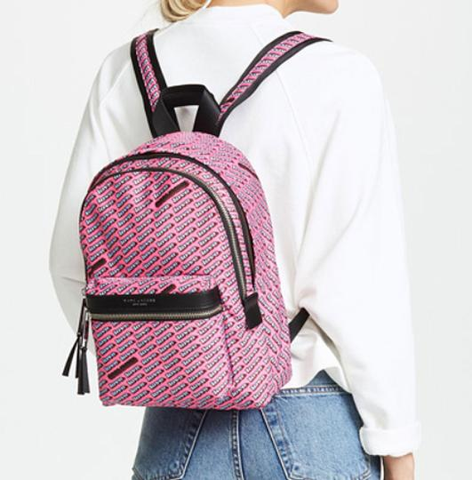 Marc Jacobs Love Print Canvas Backpack Image 2