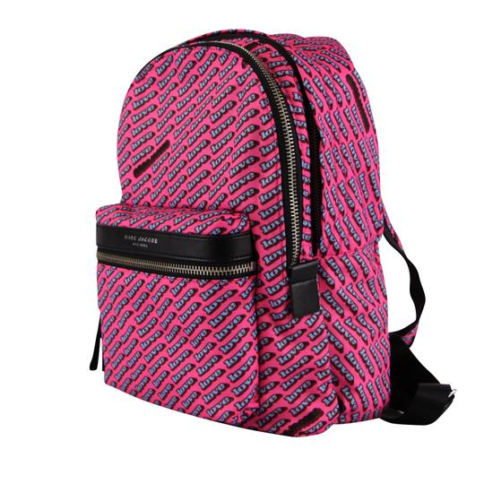 Marc Jacobs Love Print Canvas Backpack Image 4