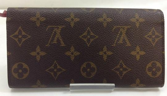 Louis Vuitton Wallet Wallets Portefeuille Emilie Monogram Brown Clutch Image 1