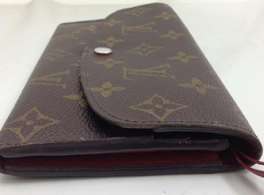 Louis Vuitton Wallet Wallets Portefeuille Emilie Monogram Brown Clutch Image 3
