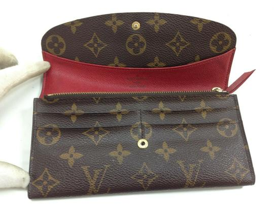 Louis Vuitton Wallet Wallets Portefeuille Emilie Monogram Brown Clutch Image 5