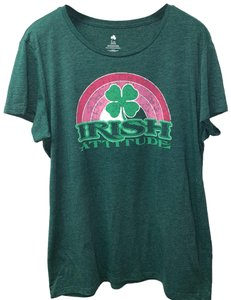 St Patrick's Day T Shirt green