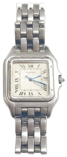 Preload https://img-static.tradesy.com/item/25375007/cartier-gently-used-stainless-steel-panther-wristwatch-watch-0-1-540-540.jpg