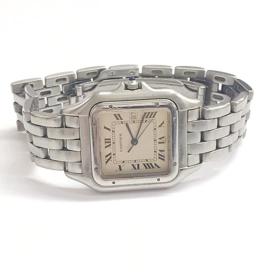 Cartier Gently Used Cartier Stainless Steel Panther Wristwatch Image 1