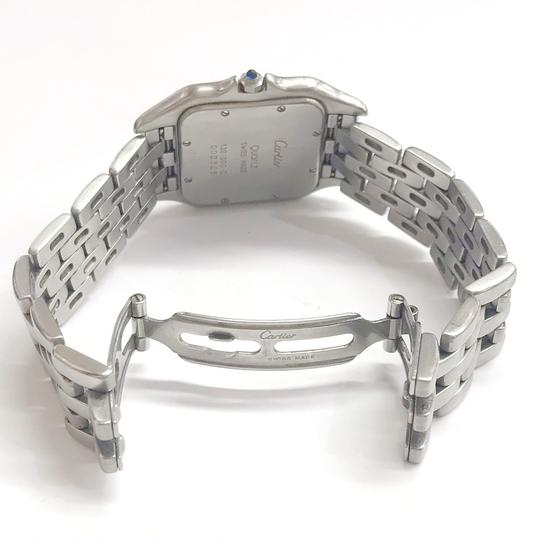Cartier Gently Used Cartier Stainless Steel Panther Wristwatch Image 3