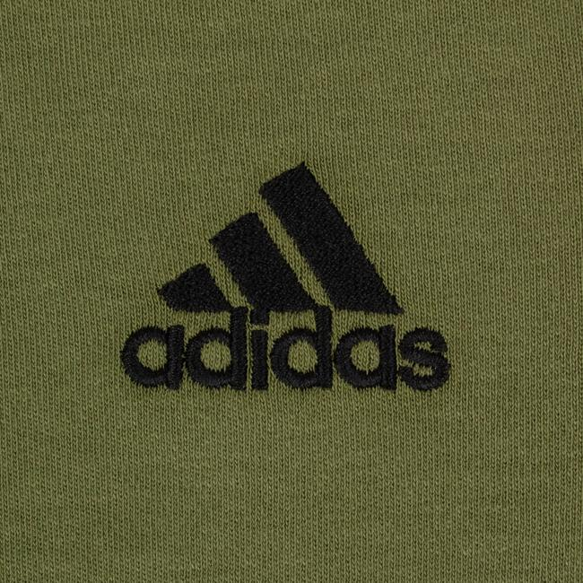 adidas X Yeezy Shortsleeve Striped Crew Neck Cotton T Shirt Green Image 2