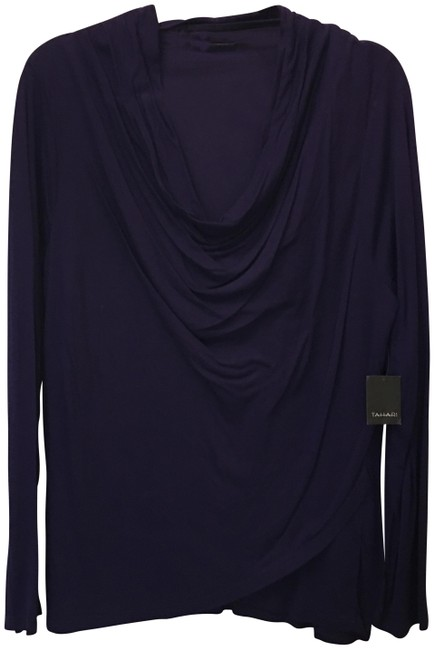 Tahari Drape Front Viscose Size Xl Extra Large New With Tags Sweater Image 0