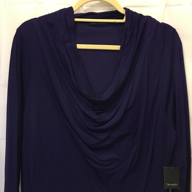 Tahari Drape Front Viscose Size Xl Extra Large New With Tags Sweater Image 1