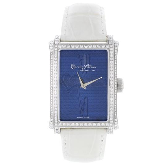 Preload https://img-static.tradesy.com/item/25375085/cuervo-y-sobrinos-blue-prominente-diamonds-unisex-a10101bc-sp-watch-0-0-540-540.jpg