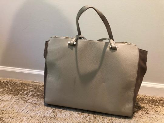 Kate Spade Satchel in Off White and Grey Image 2