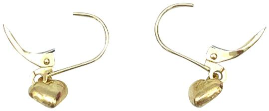 Other (930) 14k gold baby heart earrings Image 0