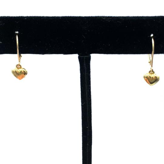 Other (930) 14k gold baby heart earrings Image 1
