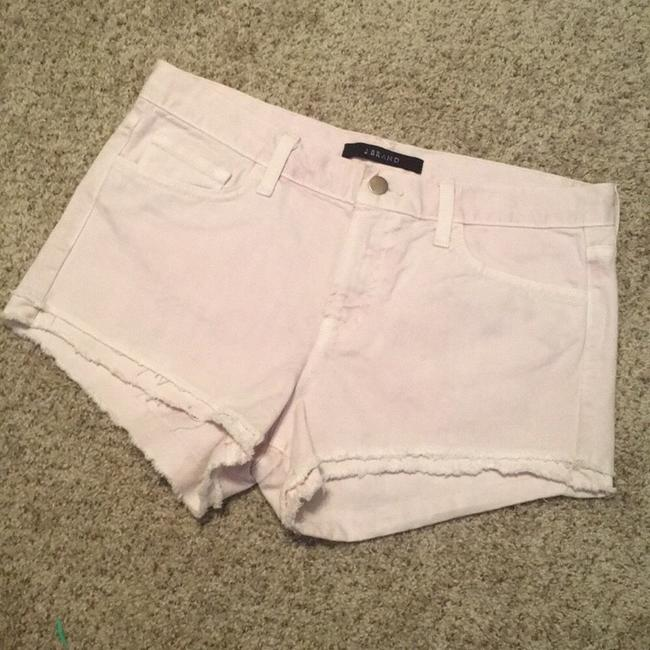 J Brand Cut Off Shorts vintage orchid ice Image 2