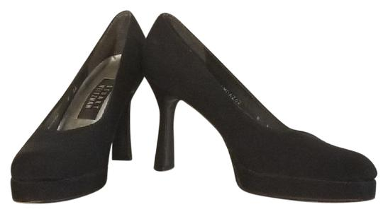 Preload https://img-static.tradesy.com/item/25375164/stuart-weitzman-black-thick-heel-pumps-platforms-size-us-8-narrow-aa-n-0-1-540-540.jpg