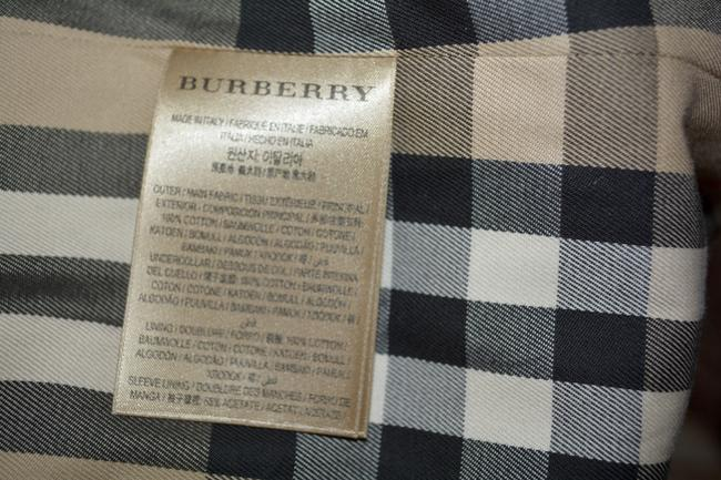 Burberry Jacket Women's Jacket Jacket Trench Coat Image 9