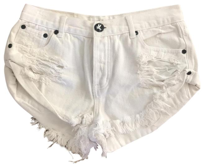 One Teaspoon Mini/Short Shorts off white Image 0