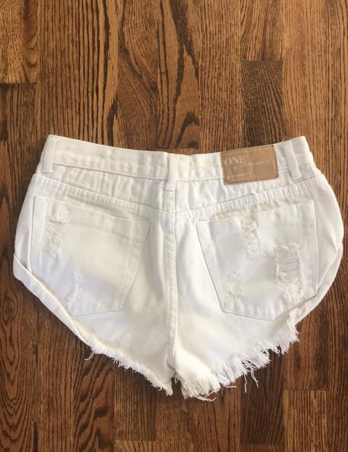 One Teaspoon Mini/Short Shorts off white Image 1