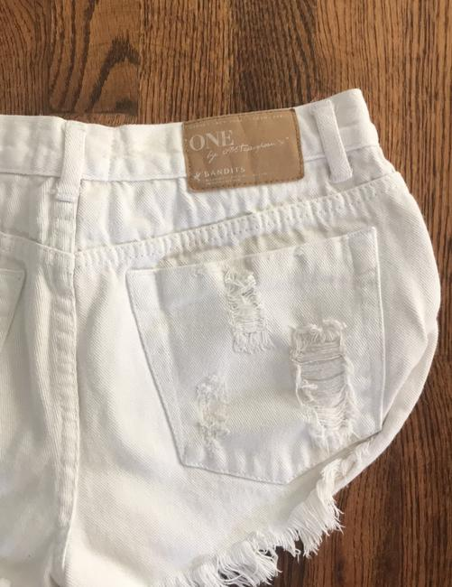 One Teaspoon Mini/Short Shorts off white Image 2
