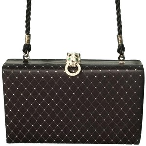 Kenneth Jay Lane Black Clutch