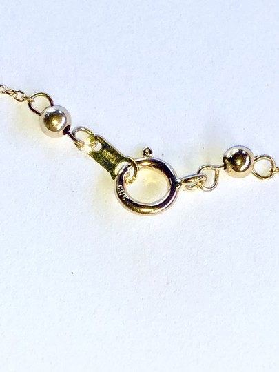 14k Gold/White South Sea Floating Pearl 16 Inch New Necklace Image 5