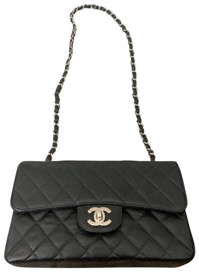 Preload https://img-static.tradesy.com/item/25375251/chanel-classic-flap-small-with-silver-hardware-calfskin-leather-shoulder-bag-0-1-540-540.jpg
