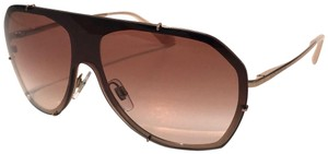 Dolce&Gabbana Vintage 90's Style Shield Rose Gold DG 2162 129813 Free 3 Day Shipping