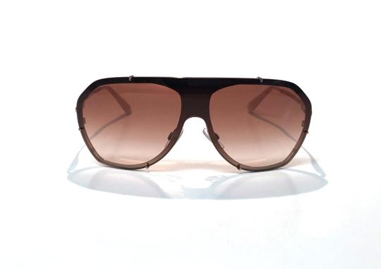 Dolce&Gabbana Vintage 90's Style Shield Rose Gold DG 2162 129813 Free 3 Day Shipping Image 1
