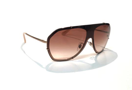 Dolce&Gabbana Vintage 90's Style Shield Rose Gold DG 2162 129813 Free 3 Day Shipping Image 2