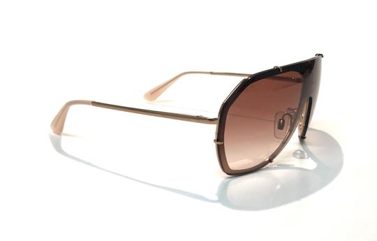 Dolce&Gabbana Vintage 90's Style Shield Rose Gold DG 2162 129813 Free 3 Day Shipping Image 3