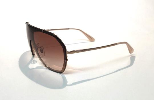 Dolce&Gabbana Vintage 90's Style Shield Rose Gold DG 2162 129813 Free 3 Day Shipping Image 4