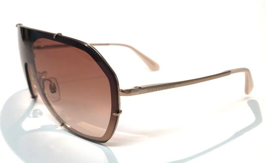 Dolce&Gabbana Vintage 90's Style Shield Rose Gold DG 2162 129813 Free 3 Day Shipping Image 5