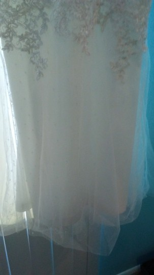 Lulu*s White Nylon and Polyester Hadleigh Embroidered Lace Sleeveless Maxi Style 704282 Casual Wedding Dress Size 6 (S) Image 2