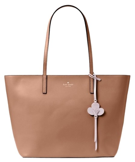Preload https://img-static.tradesy.com/item/25375344/kate-spade-toastylight-brown-smooth-leather-tote-0-1-540-540.jpg